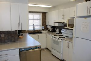 Full Kitchen, available with hall rental