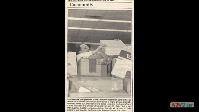 1992-01-28 Community Service