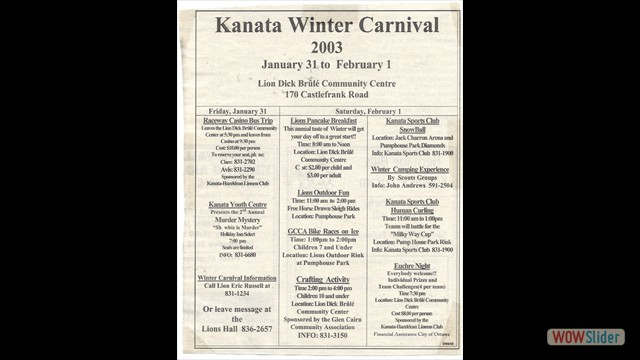 2003-01 Winter Carnival
